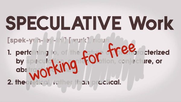 Speculative Work is Working for Free