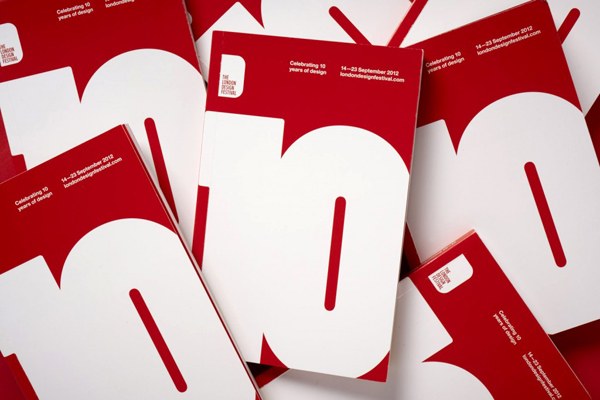 London Design Festival 2012 Identity Work by Pentagram