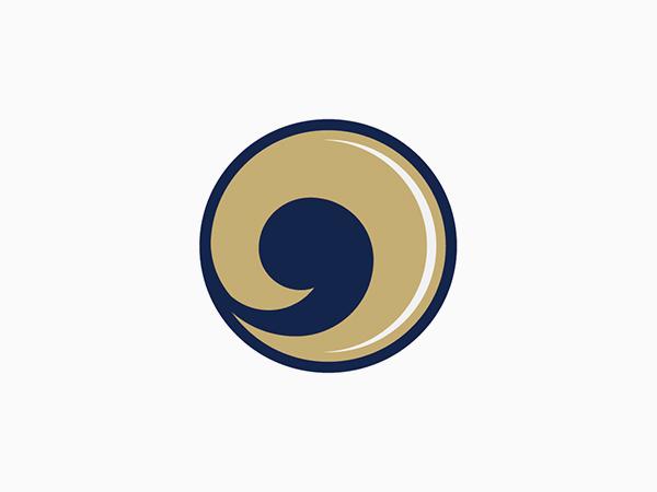 St. Louis Rams Alternate Logo by Matt McInerney
