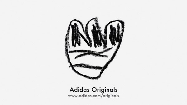 Adidas Logo by Faith Ladd
