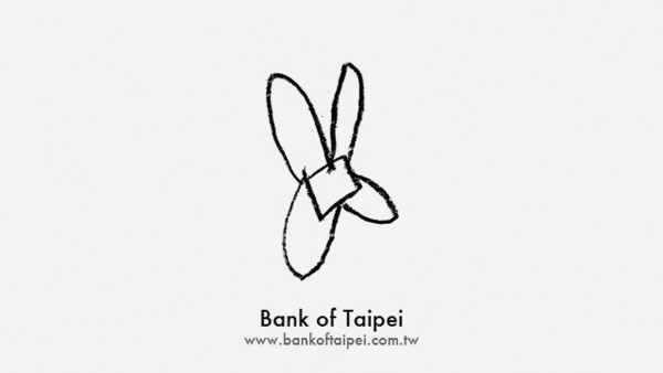 Bank of Taipei Logo by Faith Ladd