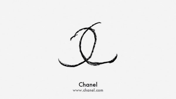 Chanel Logo by Faith Ladd