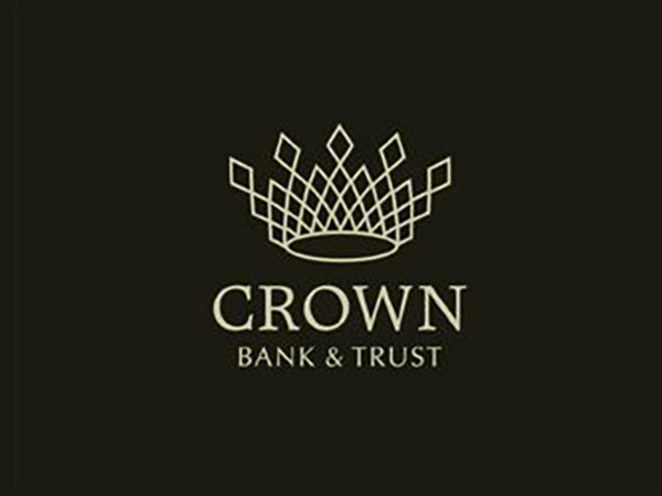 Crown Bank and Trust Logo