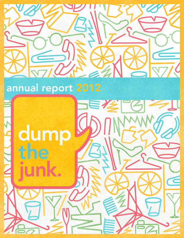 Dump the Junk Brand Identity by Jane Gardner