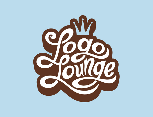 Logo Lounge Custom Typography Logo