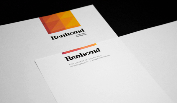 Renhand Corporate Brand Identity by Higher