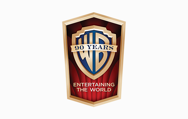 Warner Bros 90 Years Logo