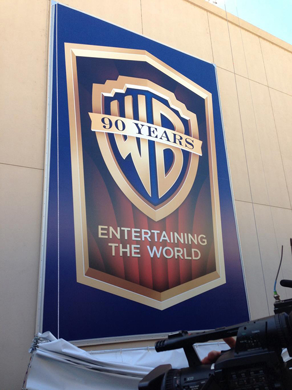 Warner Brothers Reveal 90th Anniversary Logo