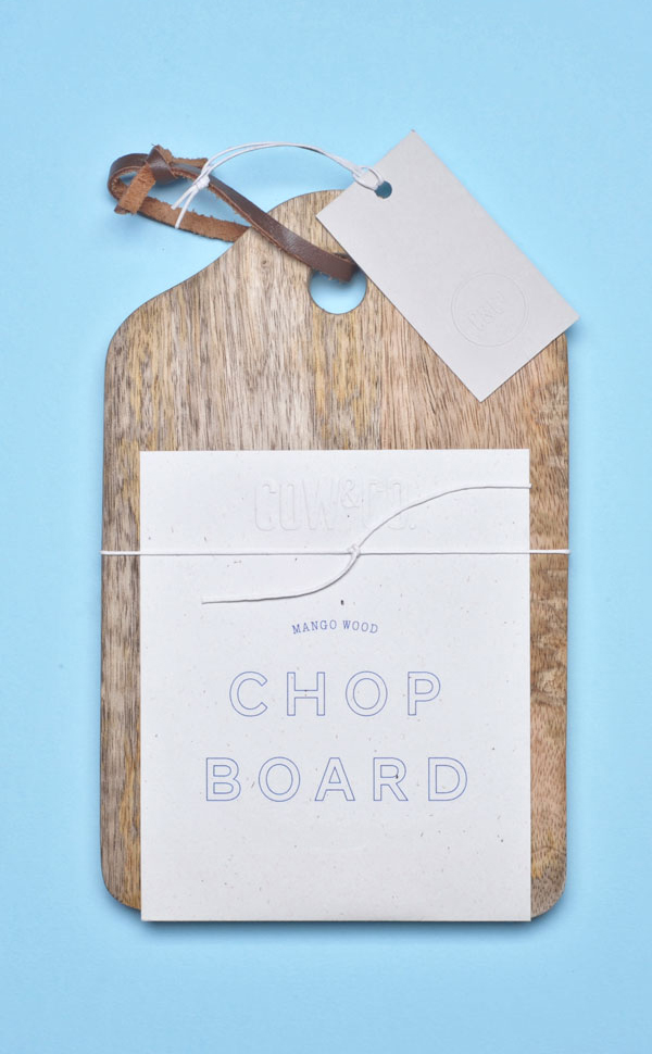 Cow&Co Chopboard Identity Design by SB Studio