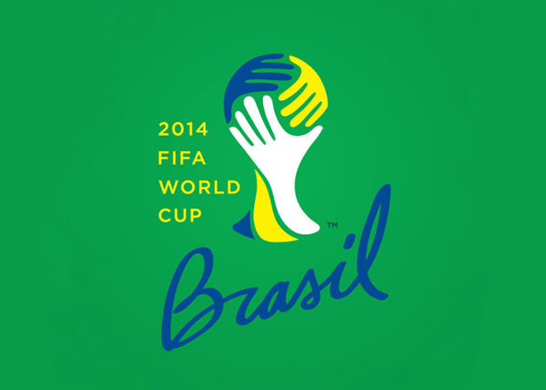 Improved Brazil 2014 World Cup Logo by Felix Sockwell