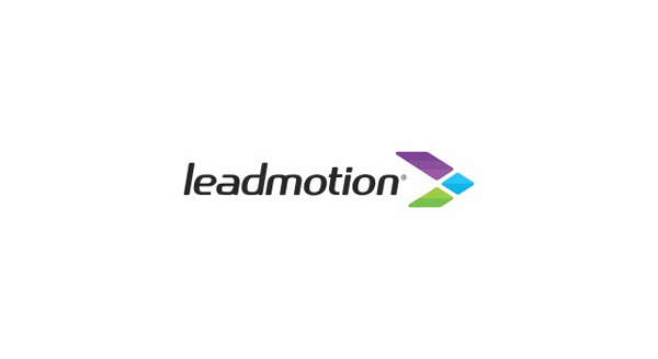 Leadmotion Mobile Logo and Stationery by Deividas Bielskis