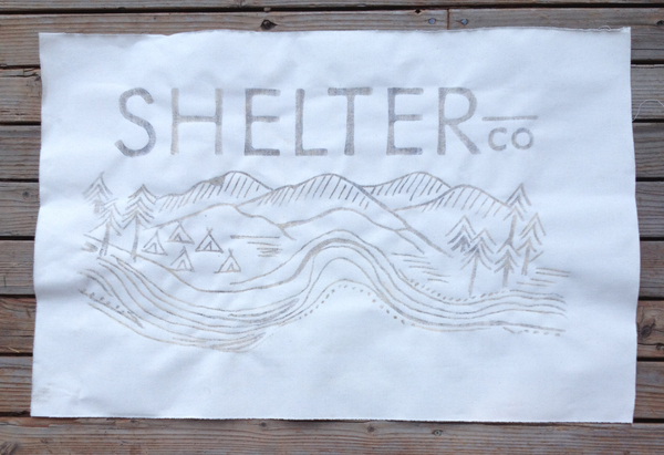 Luxury Camping Shelter Branding by Olive Route