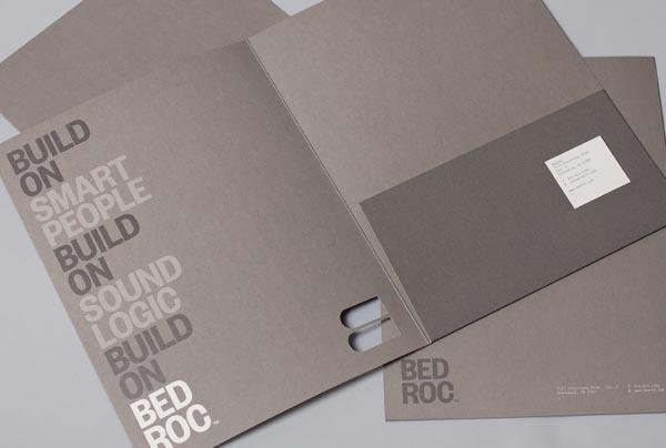 Bedroc Brand Identity by Perky Bros