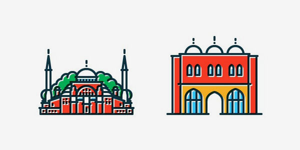 Icons of Istanbul by Tamer Koseli