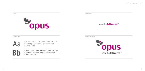 Opus Brand Book by Art Department