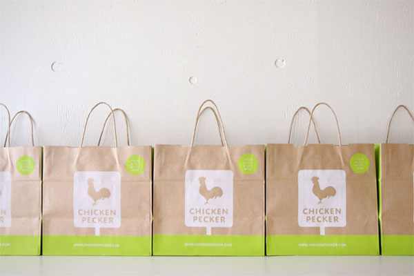 Chicken Pecker Identity Design by Commune