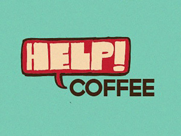 Help Coffee Logo