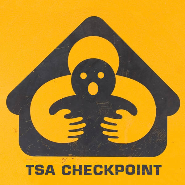 TSA Checkpoint Logo by Oleg Volk
