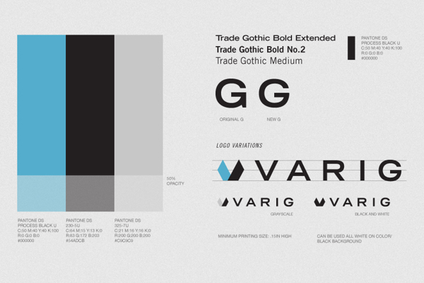 Varig Rebranding Exercise by Leo Porto