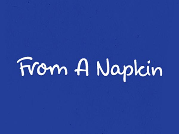 From a Napkin Logo