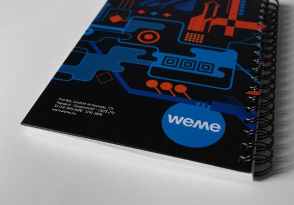 Weme Brand Identity by Anora Campo