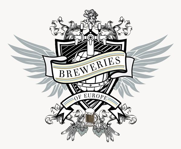 Breweries of Europe Crest Logo