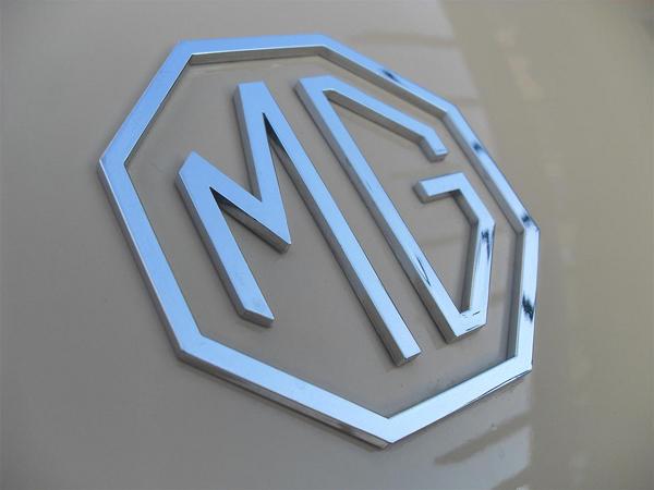 1957 MGA Roadster Logo