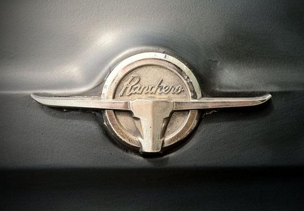 1960 Ford Ranchero Logo