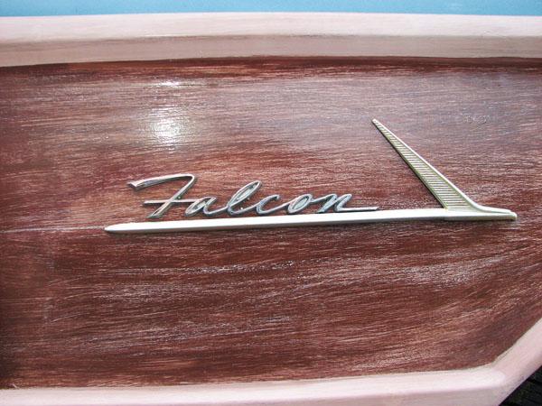 1962 Ford Falcon Wagon Logo