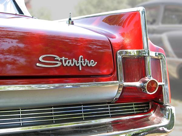 1963 Oldsmobile Starfire Convertible Logo
