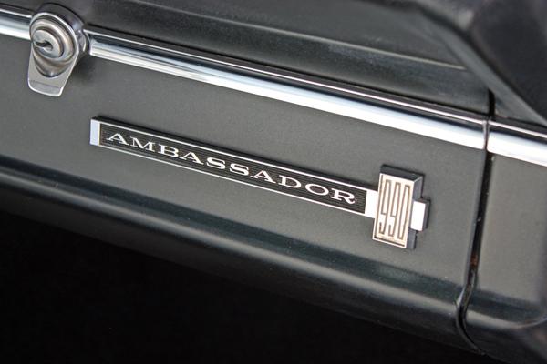 1966 AMX Ambassador 990 DPL Logo