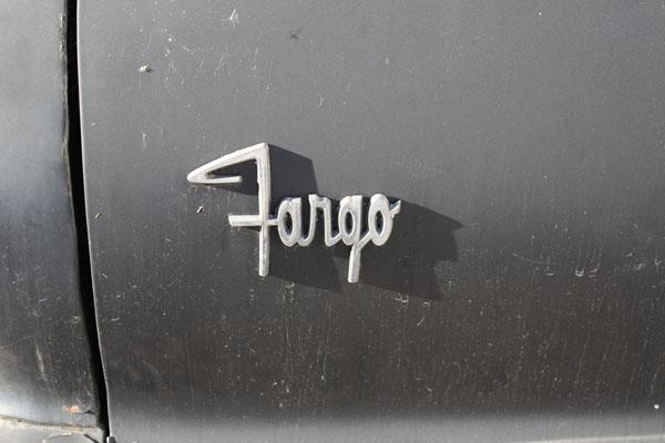 1966 Fargo A100 Panel Van Logo