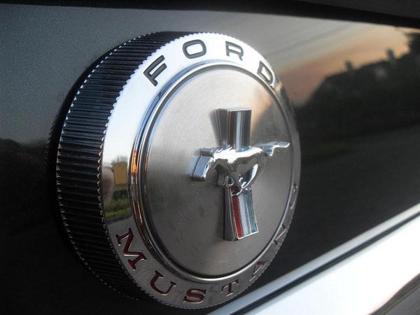 1966 Ford Mustang Fastback Logo
