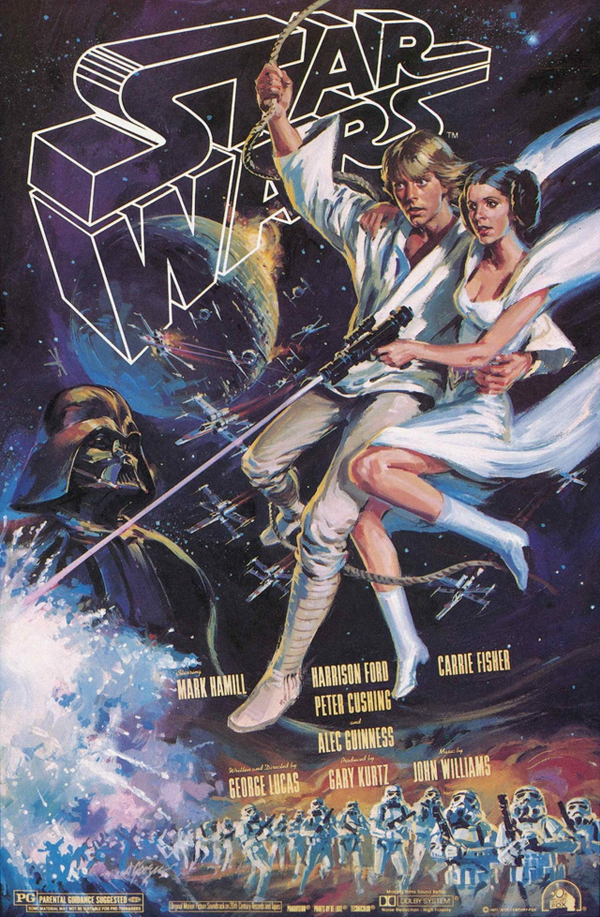 1980 Star Wars Poster
