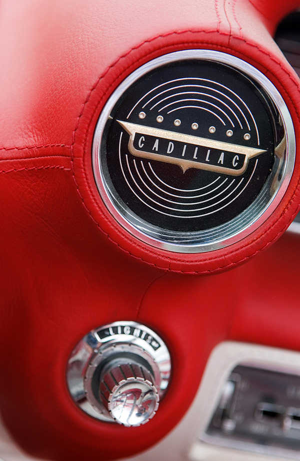Cadillac Eldorado Speaker Grille Logo