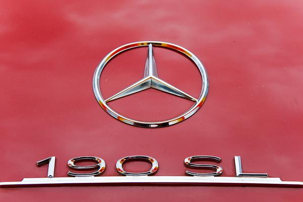 Mercedes Benz 190 SL Logo
