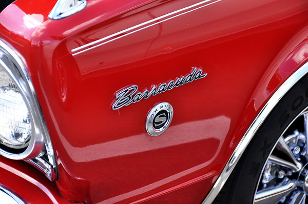 Plymouth Barracuda Formula S Logo