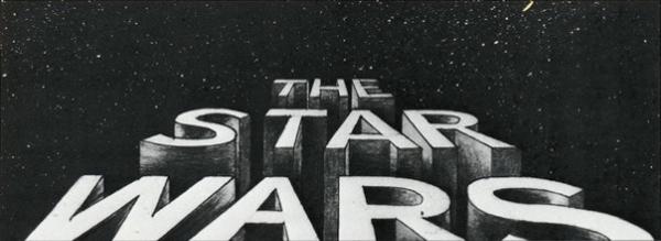 Star Wars Logo Vanishing Point