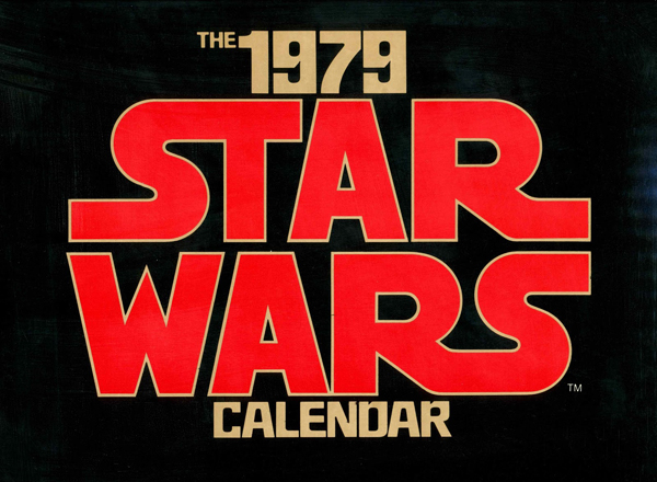 The 1979 Star Wars Calendar Logo