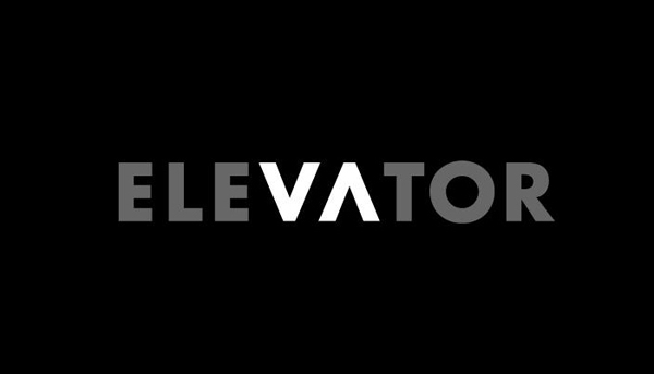 Elevator Word as Image by Ji Lee