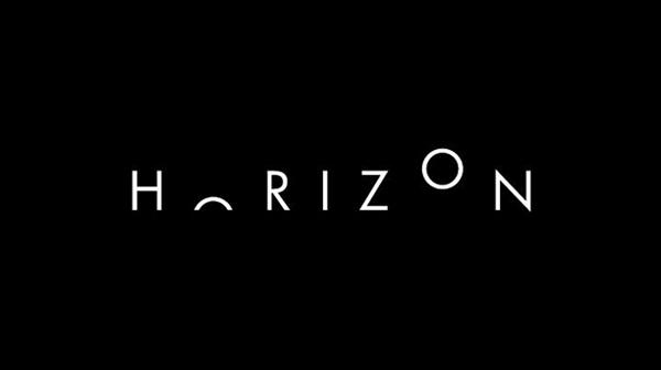 Horizon Word as Image by Ji Lee
