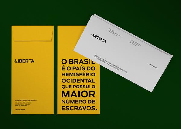 Liberta Brand Identity by David Galasse