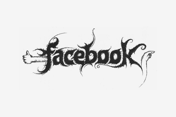 Facebook Death Metal Logo