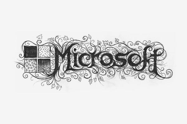 Microsoft Death Metal Logo