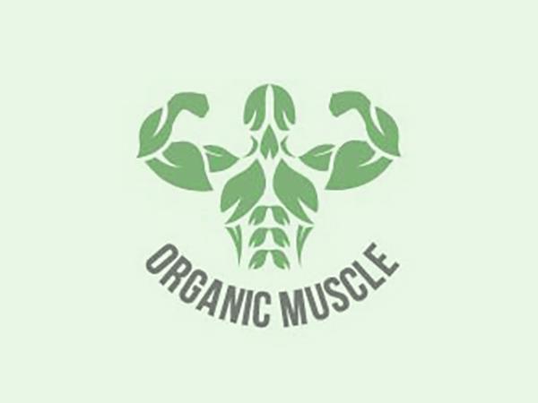 Organic Muscle Logo