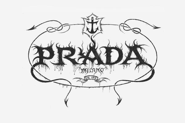Prada Death Metal Logo
