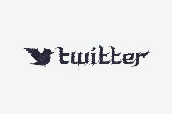 Twitter Death Metal Logo