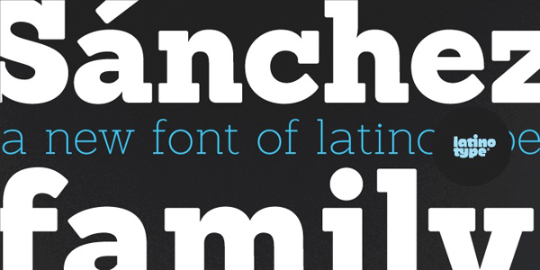 Great Fonts for Logos at the Latino Type Foundry