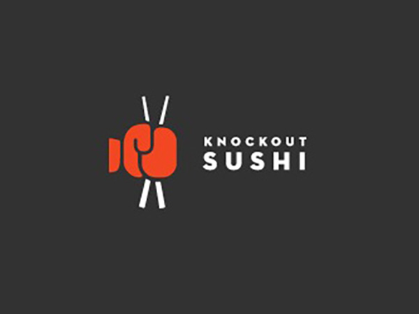 Knockout Sushi Logo