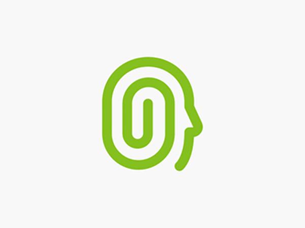 Face Paperclip Logo